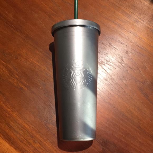 Starbucks metal 24 ounce tumbler